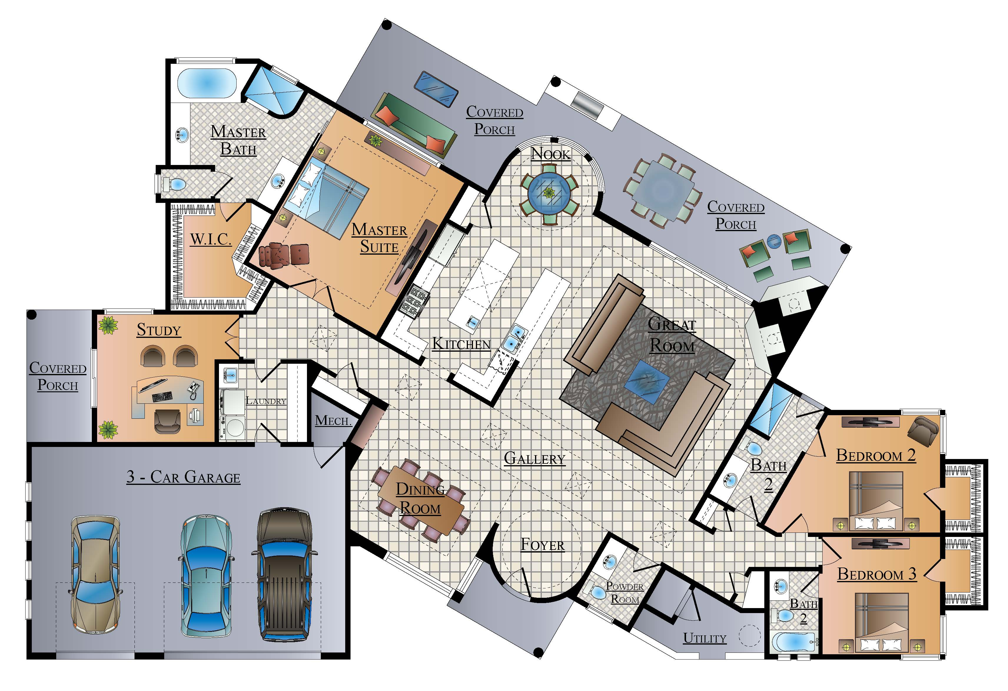 Sold the palo verde wildcat pass lot 57 andy courtney for Palo verde homes floor plans
